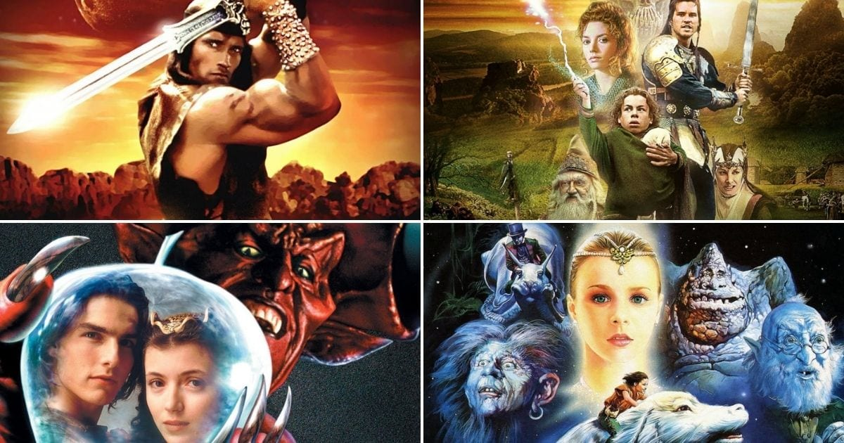 21 Best Sword And Sorcery Movies Of All Time (Ranked)
