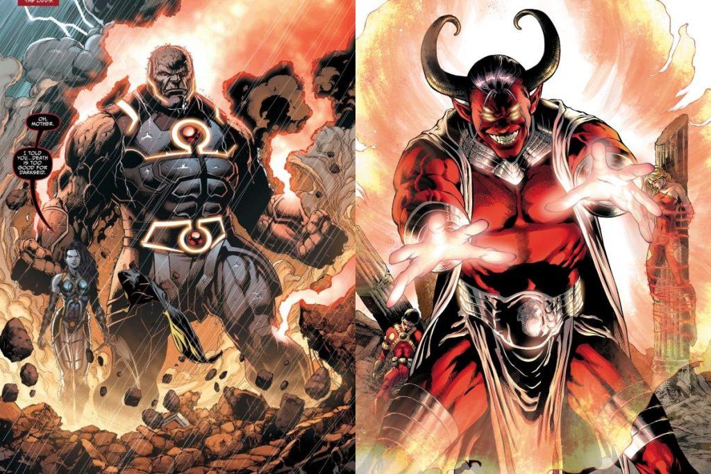 Trigon v Darkseid: Who Would Win?
