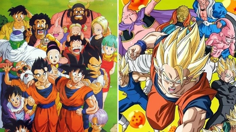 Dragon Ball Z vs Dragon Ball Z Kai