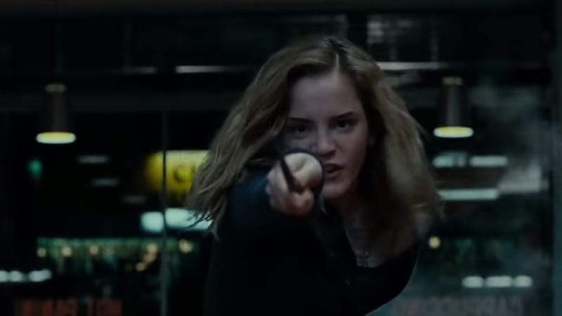 How Did Hermione Block the Killing Curse in Harry Potter?