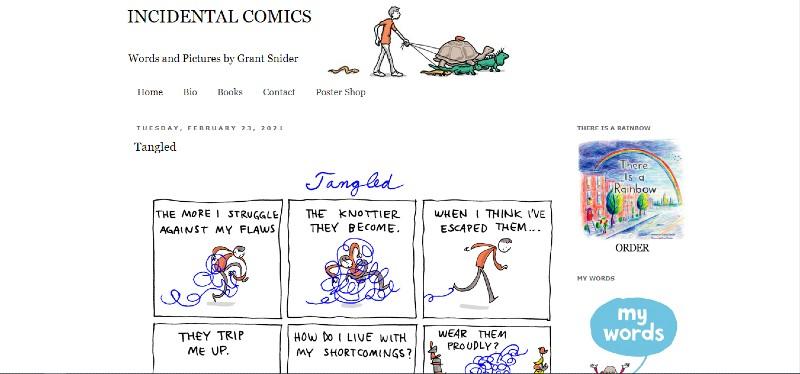 INCIDENTAL COMICS