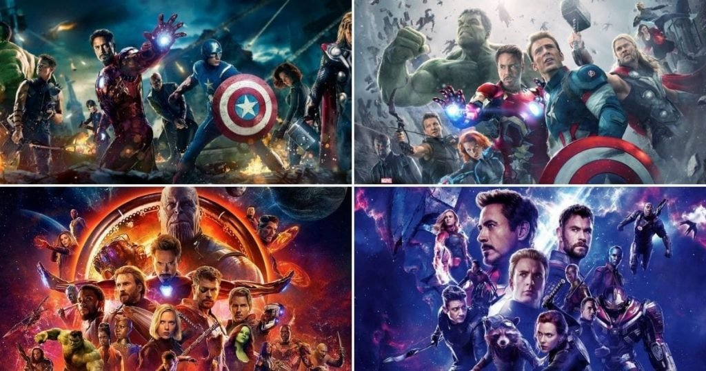Marvel Movies in Order All 23 MCU Movies Chronologically