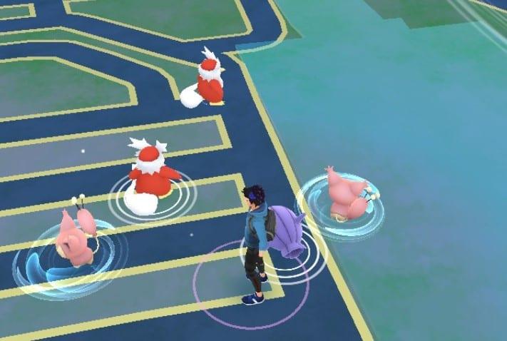Why Do Some Pokémon Have a Blue Swirl Around Them in Pokémon Go?