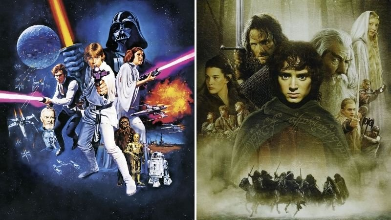 Star Wars vs The Lord of The Rings