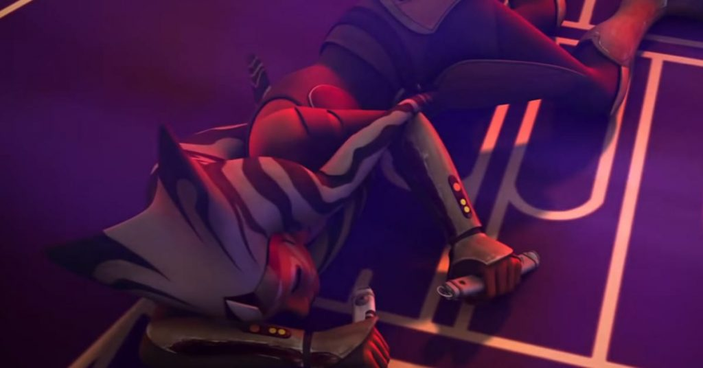 Did Darth Vader kill Ahsoka Tano in Star Wars Rebels?
