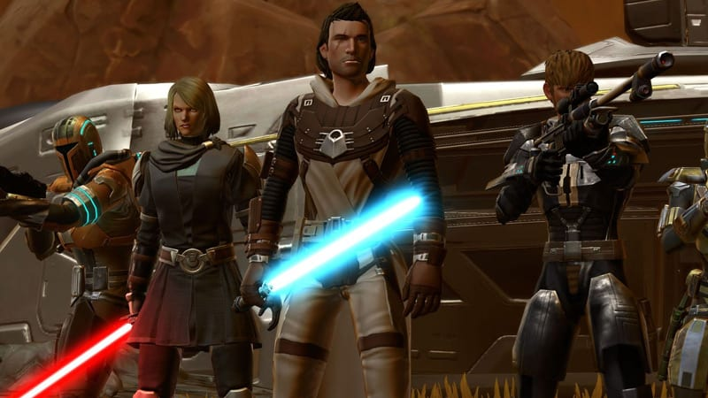 Is Star Wars: The Old Republic Canon?