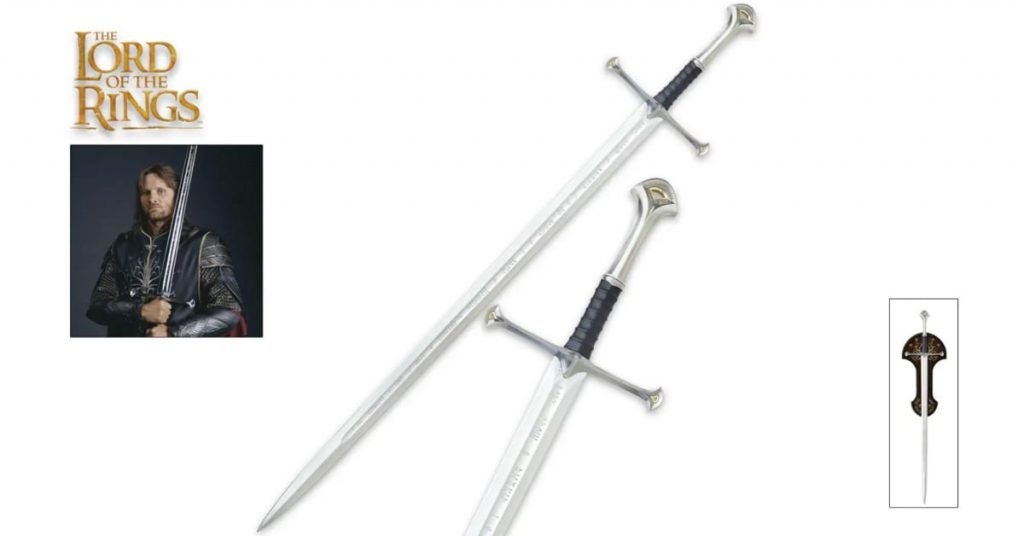 The Lord of the Rings Anduril - United Cutlery (2021 Review)