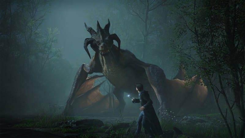 Hogwarts Legacy Dragon