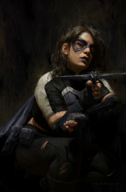 Batman-Secret-Files-Huntress-1-Main-Cover