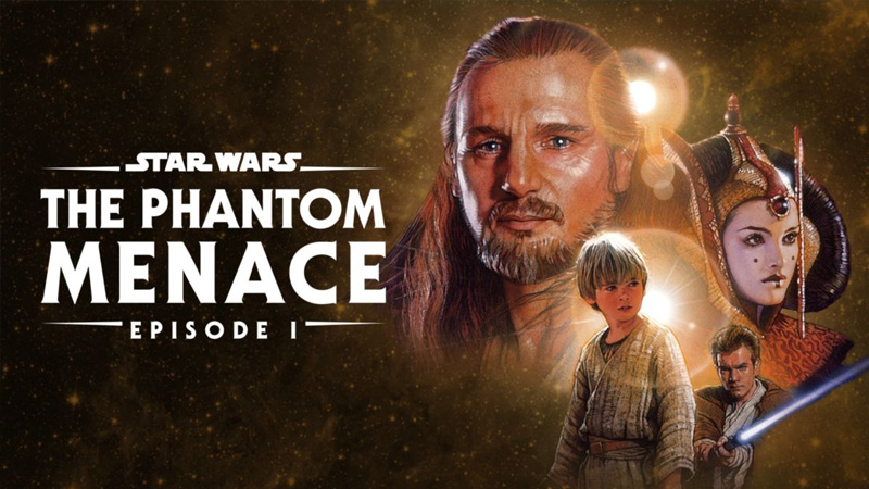 the phantom menace - How Long Would it Take to Watch all the Star Wars Movies?