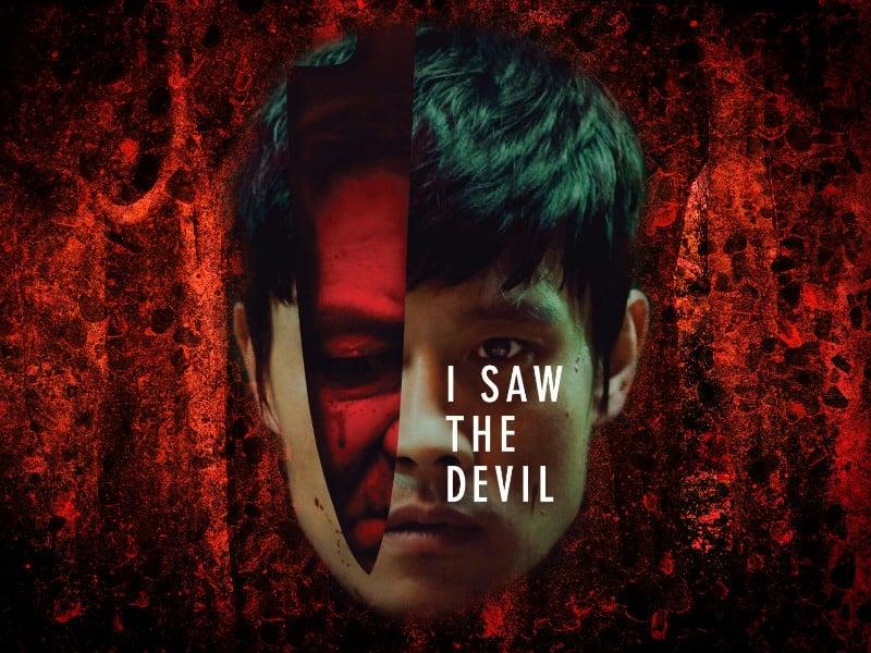 I saw the devil - poster