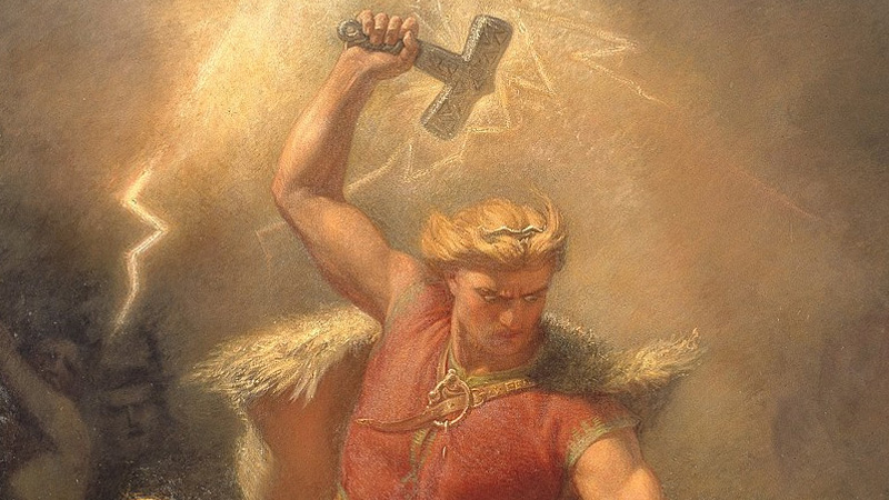 Is Thor A Greek God Or Is He Something Else?