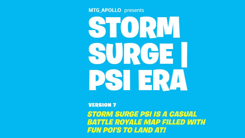 What Exactly is Storm Surge in Fortnite?