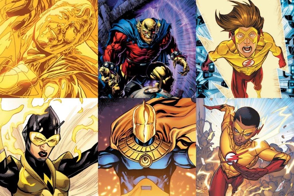 10 Best Yellow Superheroes (RANKED)