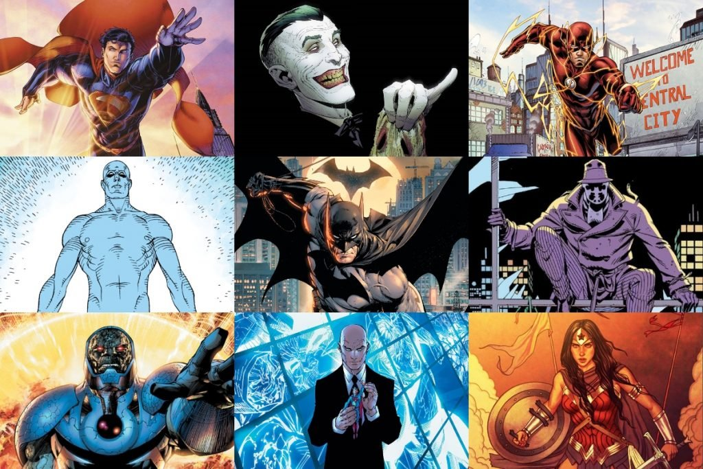 20 Best DC Comics Characters of All Time (RANKED)