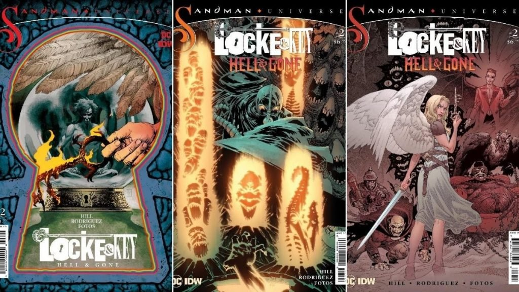 DC and IDW Reveal Covers and New Details for Locke & KeyThe Sandman Universe Hell & Gone #2