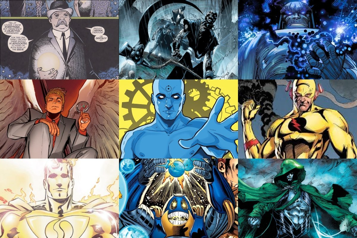 15 Most Powerful DC Comics Characters of All Time (RANKED)