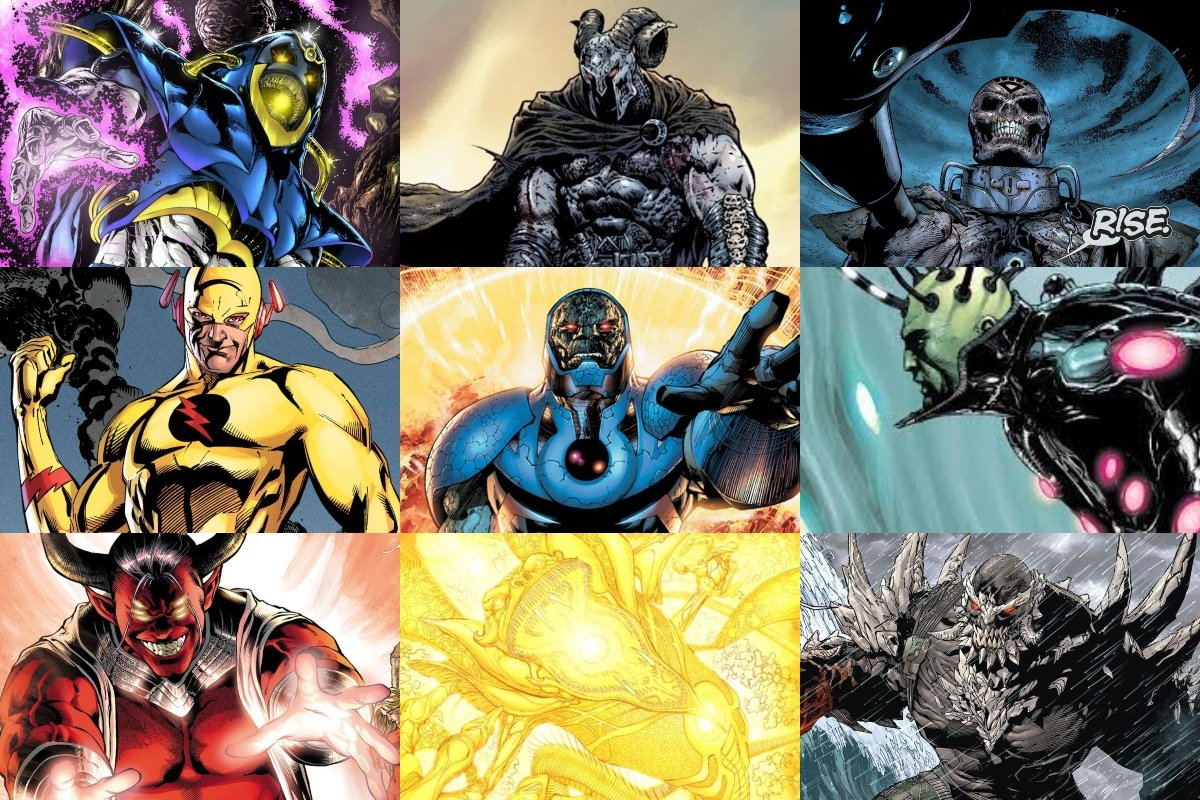 20 Most Powerful DC Comics Villains of All Time (RANKED)
