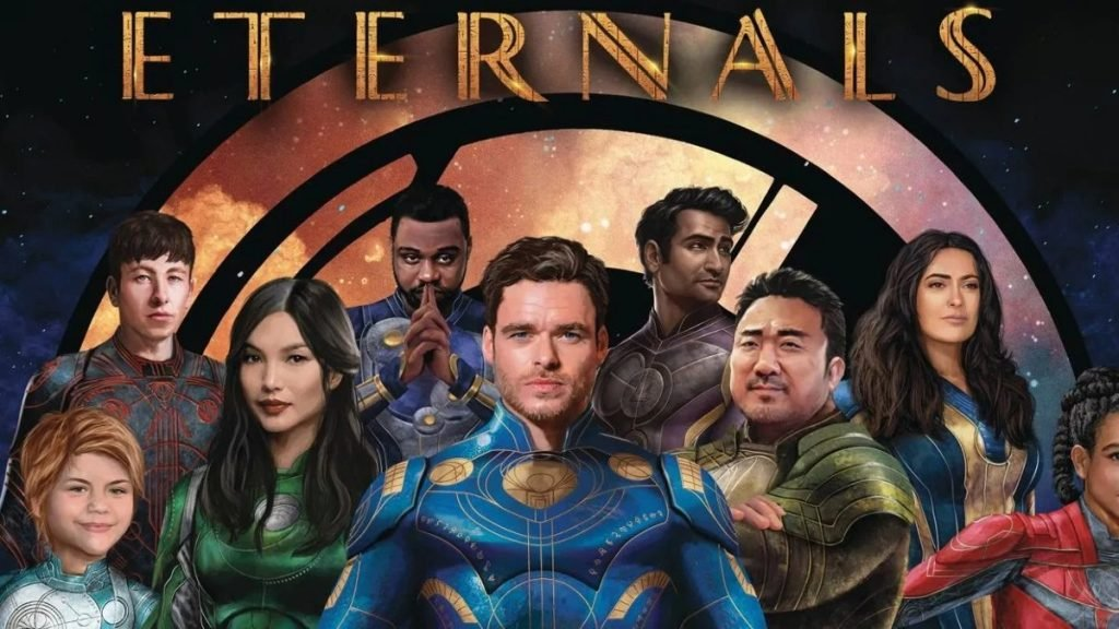 Marvel has released the first look at the movie The Eternals
