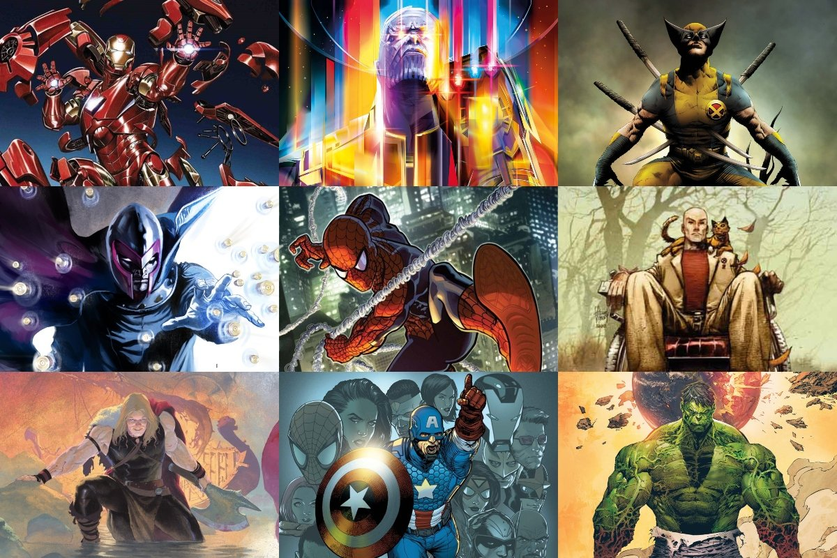 20 Best Marvel Characters of All Time