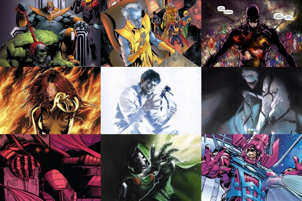 20 Most Powerful Marvel Villains of all Time (RANKED)