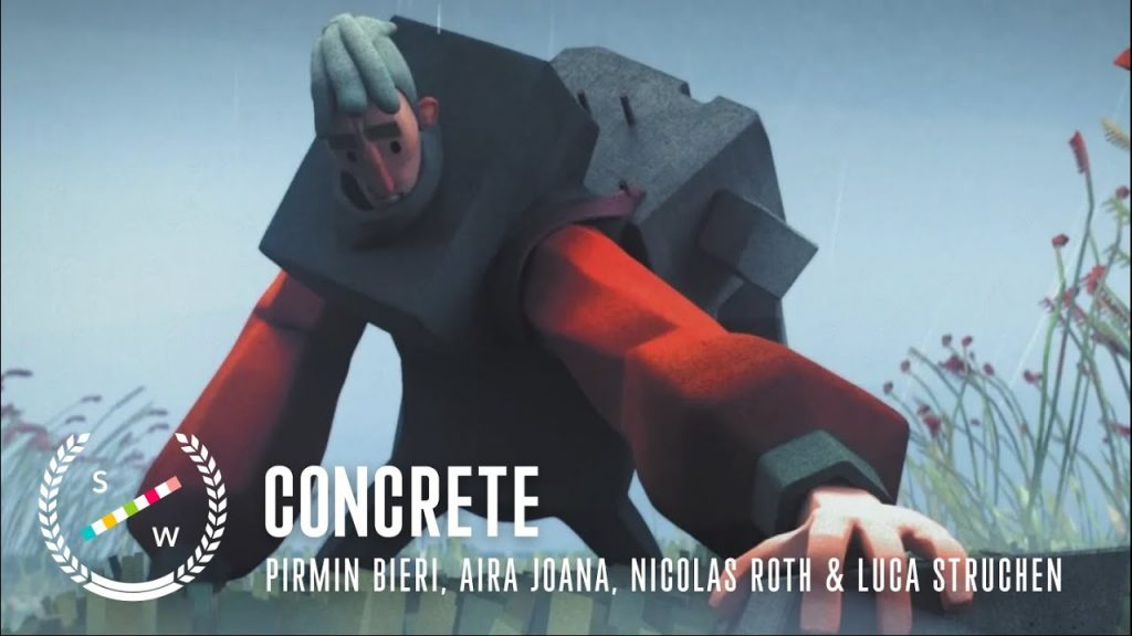 Concrete: an unusual and wonderful short animated film!