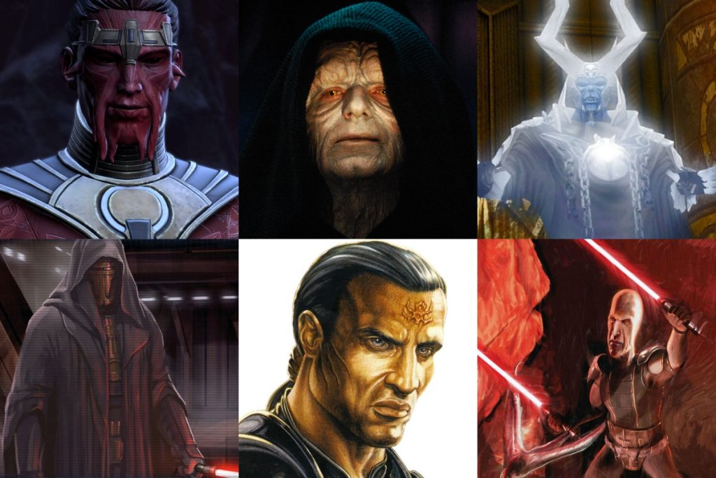 20 Most Powerful Sith of All Time (RANKED)