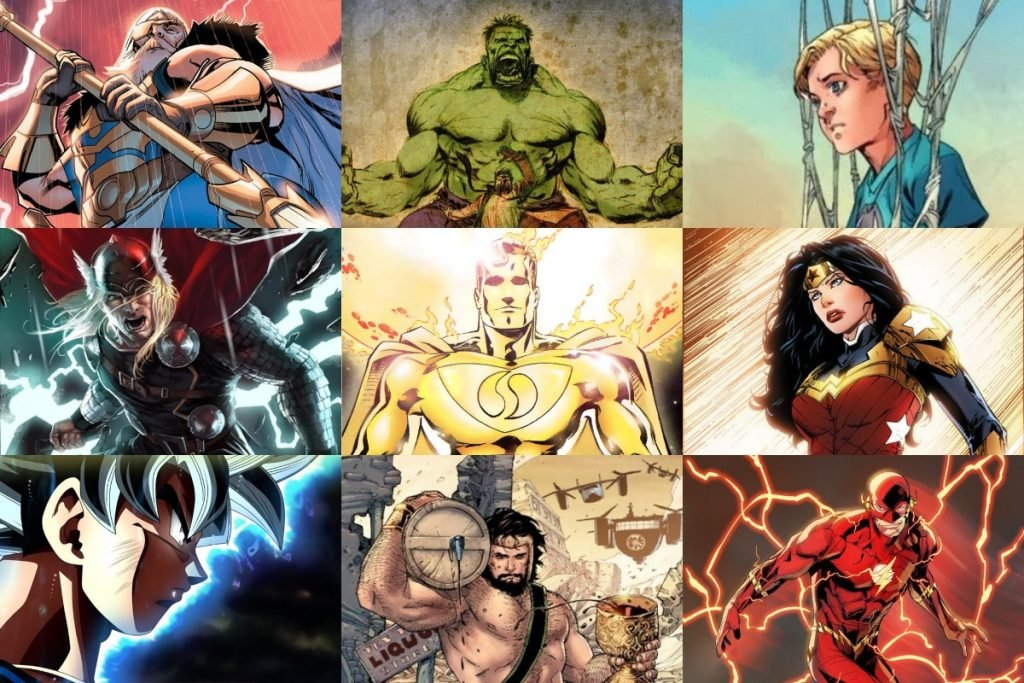 30 Most Powerful Superheroes of all Time (RANKED)