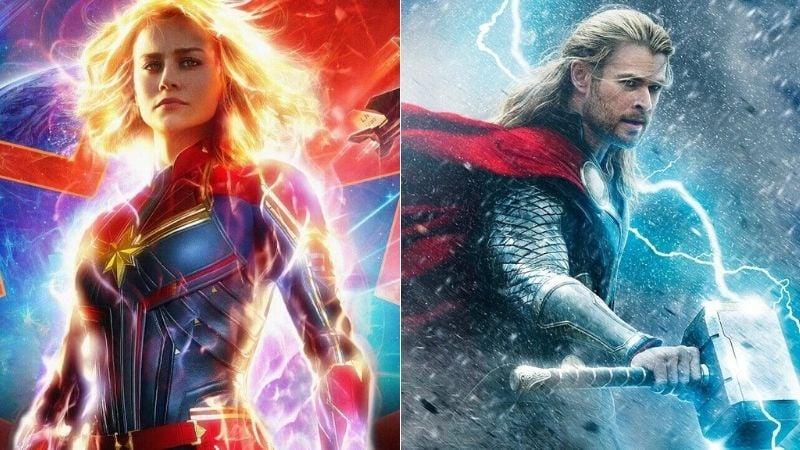 captain marvel vs thor