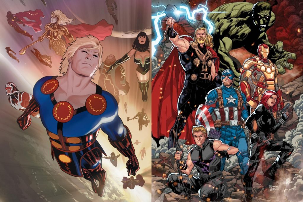 Eternals vs Avengers: Who Would Win?