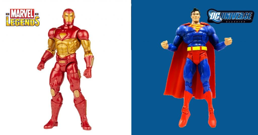 Marvel Legends vs DC Universe Classics: Differences and Which Ones are Better