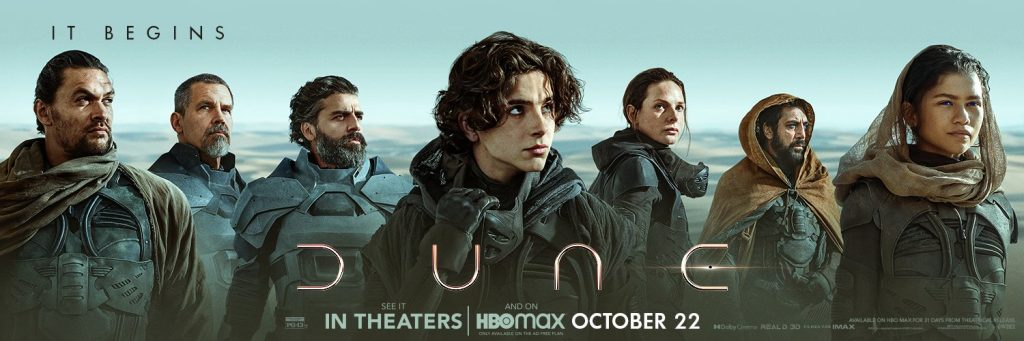 Spice up your day with fresh posters for the movie Dune!