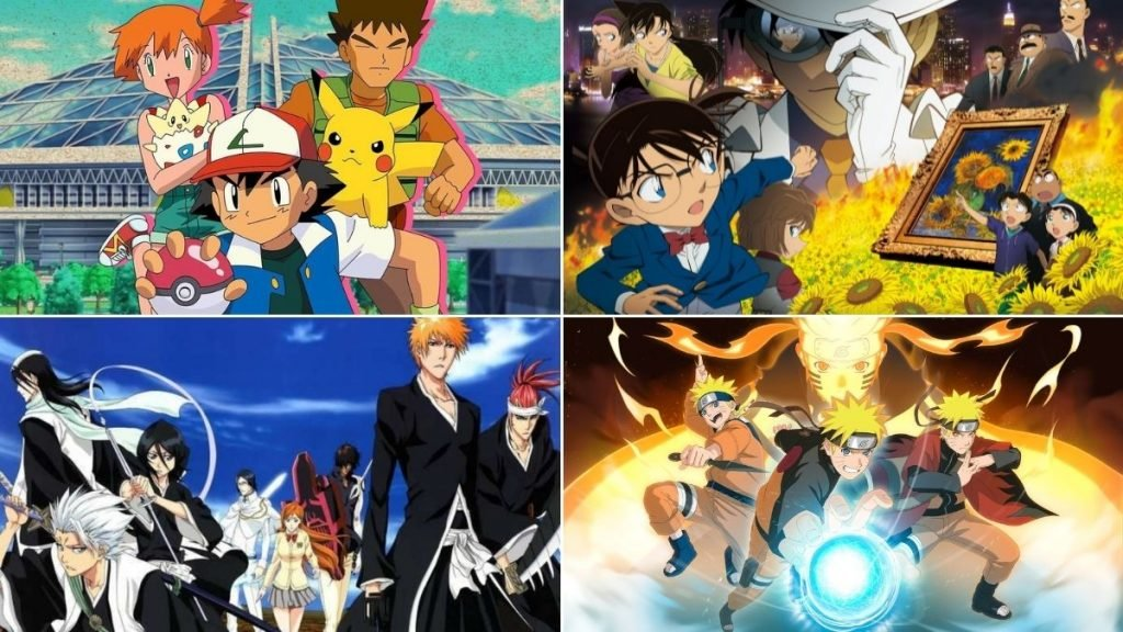 Anime With The Most Fillers