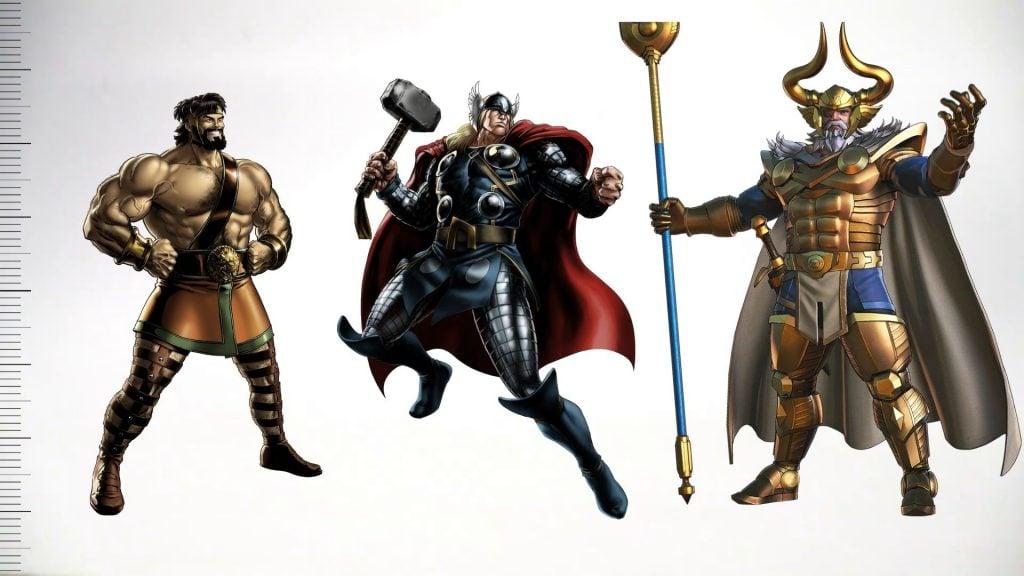 Average Superhero and Villain Height Humans, Metahumans, Robots, Aliens, and Gods (Comics Statistics)