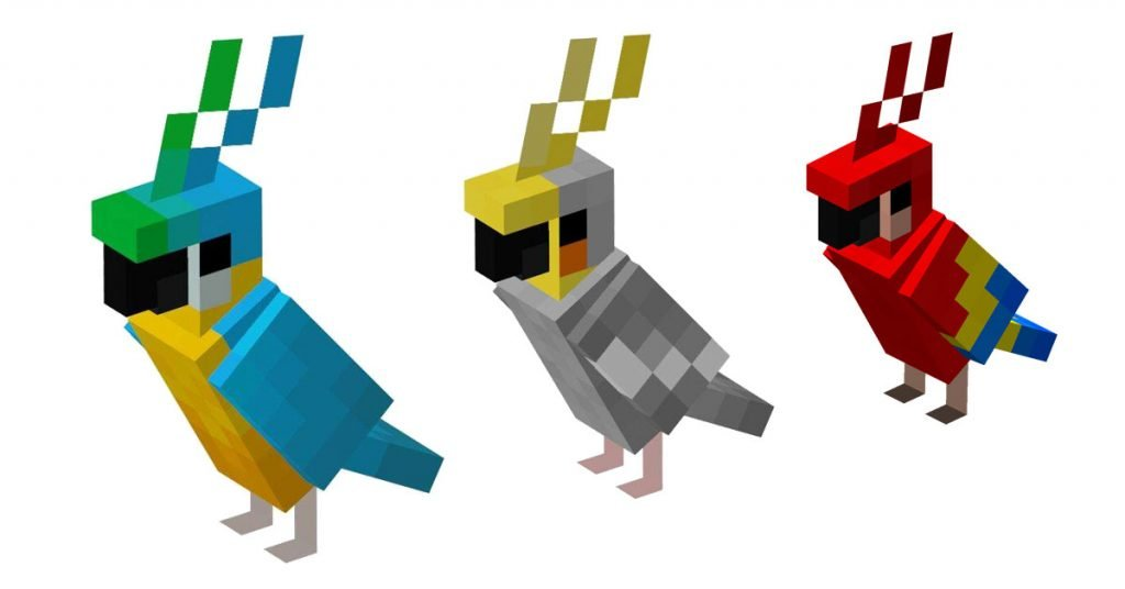 How To Breed And Tame Parrots In Minecraft?