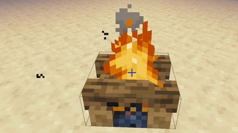How To Make A Campfire In Minecraft?
