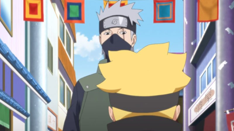 How old is Kakashi in Naruto and Boruto?