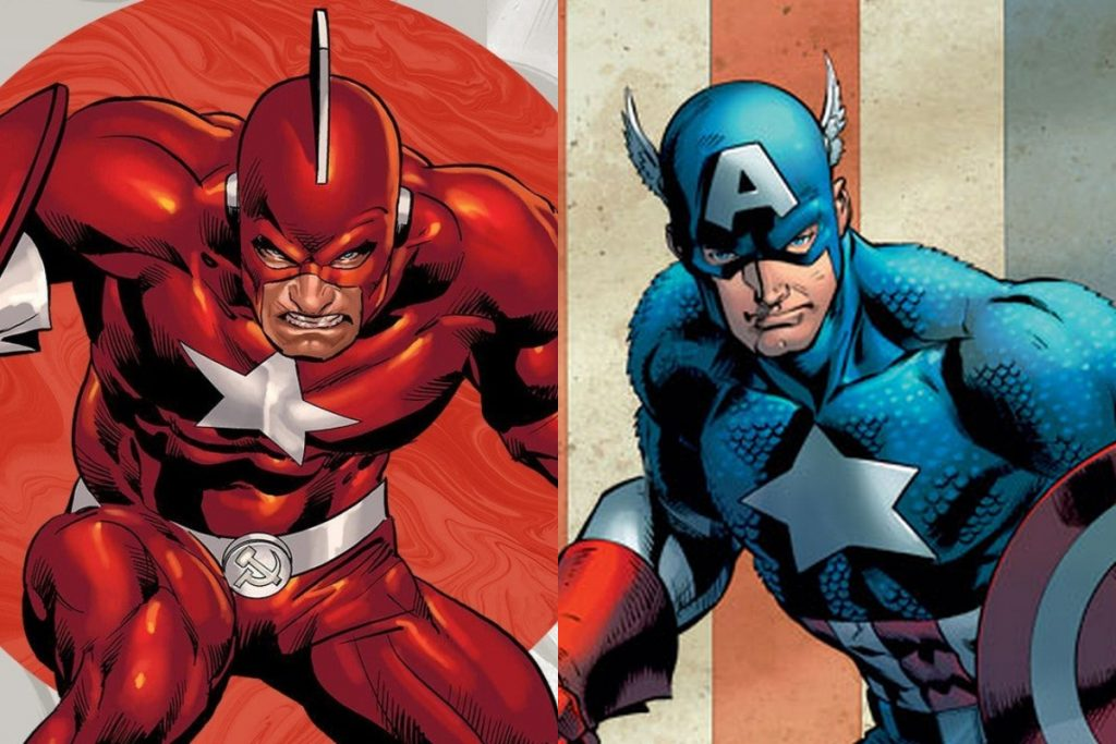 Red Guardian vs Captain America: Which Super Soldier Would Win?