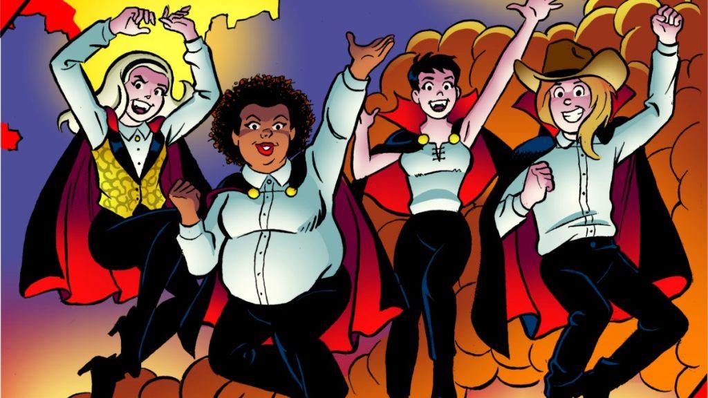 DIAMOND COMICS TO DISTRIBUTE VAMPIRE COMEDY SUPER 'SUCKERS #1
