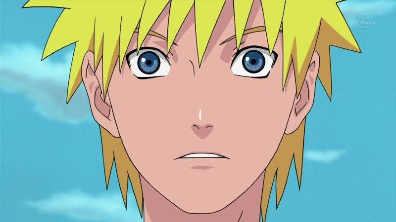 Why did Naruto lose his whiskers?