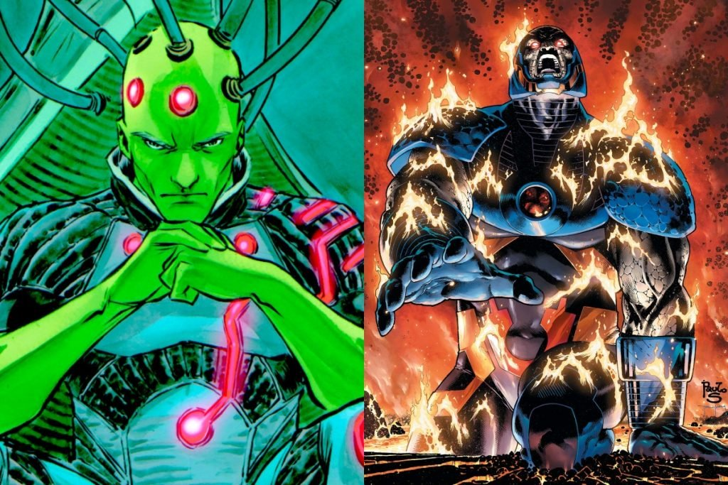 Brainiac vs Darkseid: Who Would Win?