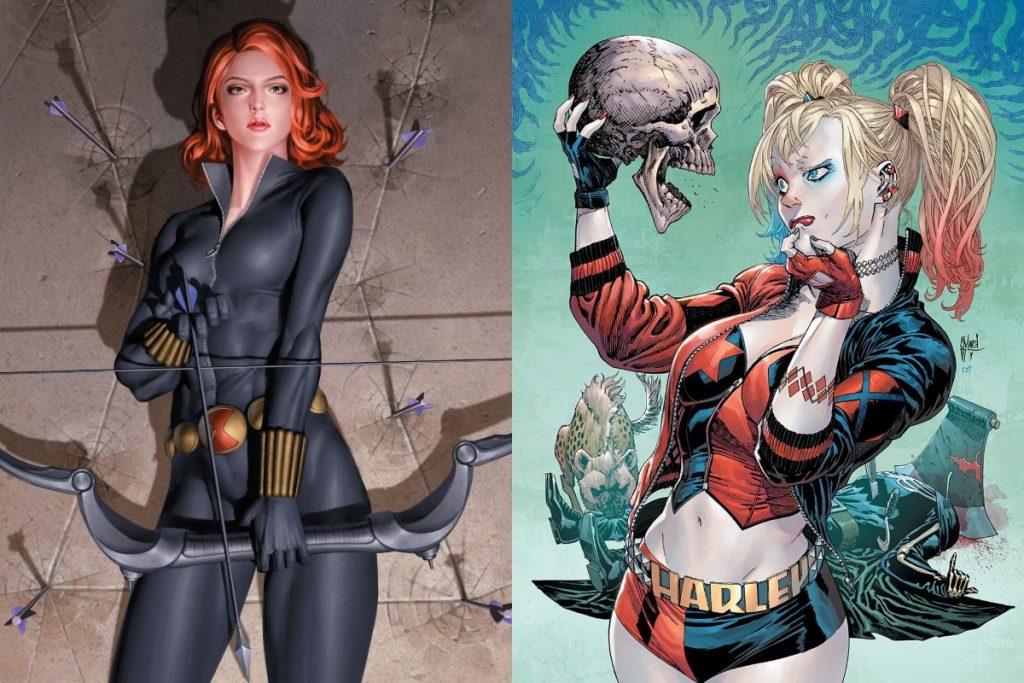 Harley Quinn vs Black Widow: Who Would Win?