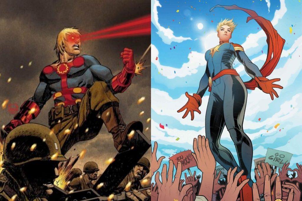 Ikaris vs Captain Marvel: Who Would Win?