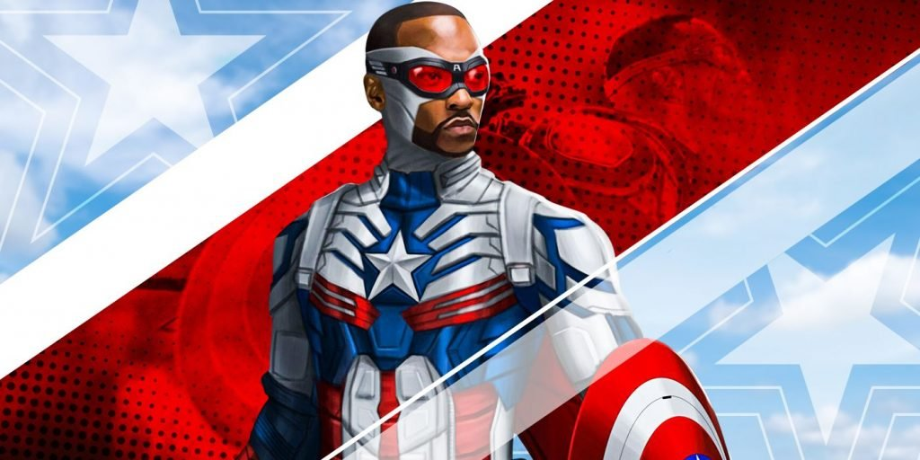 Anthony Mackie as Captain America on the big screen