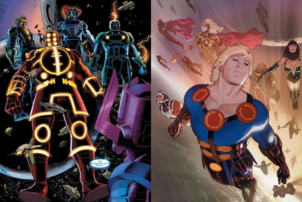 Eternals vs Celestials: Who Would Win?