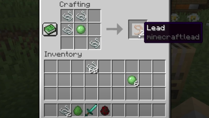 How to Make Lead in Minecraft: Materials, Crafting Guide, Recipe, and More