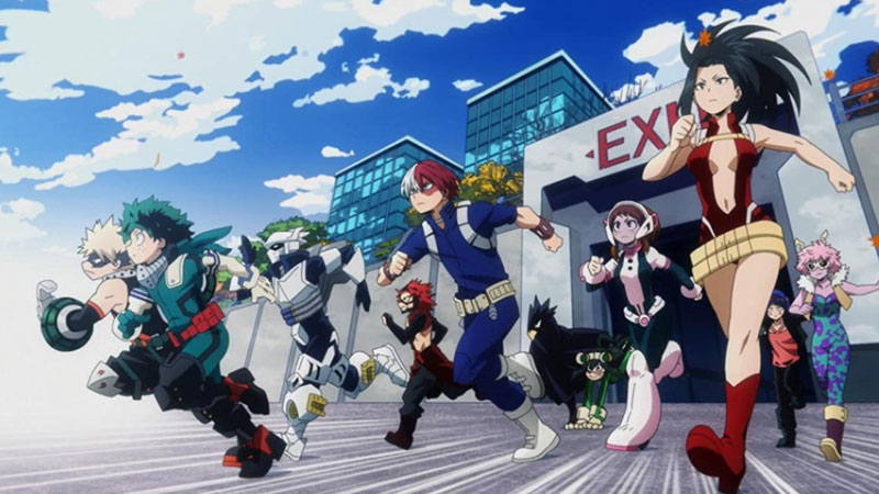 My Hero Academia Watch Order 2021 (Anime Series And Movies)