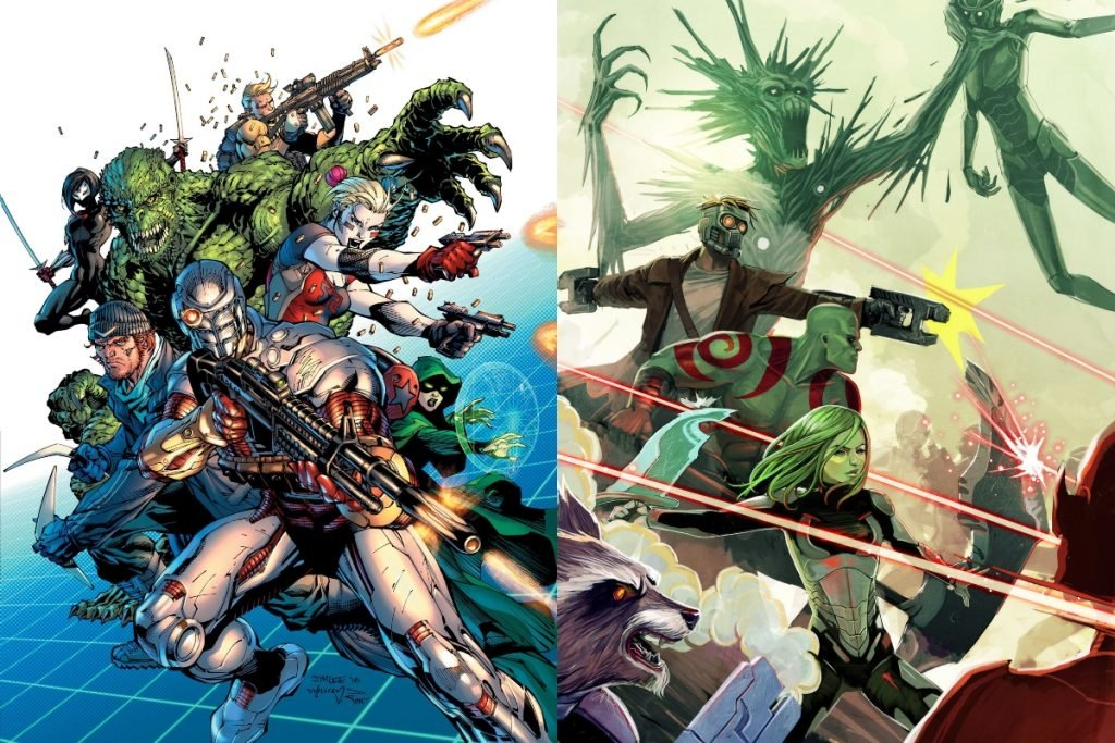Suicide Squad vs Guardians of the Galaxy: Who Would Win?