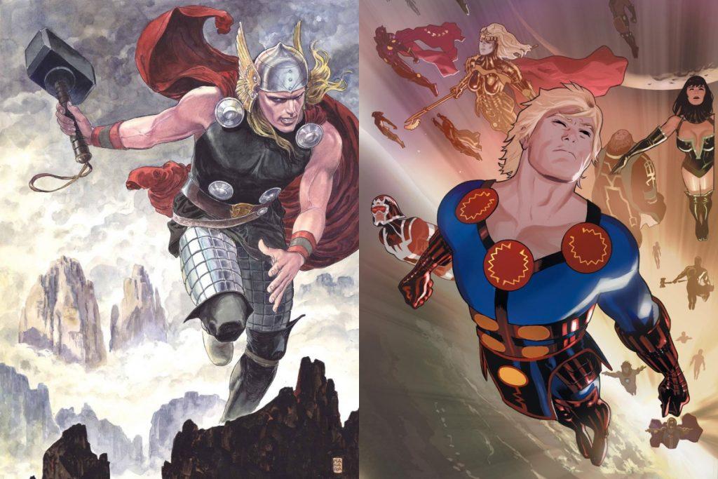 Ikaris vs Thor: Who Would Win?