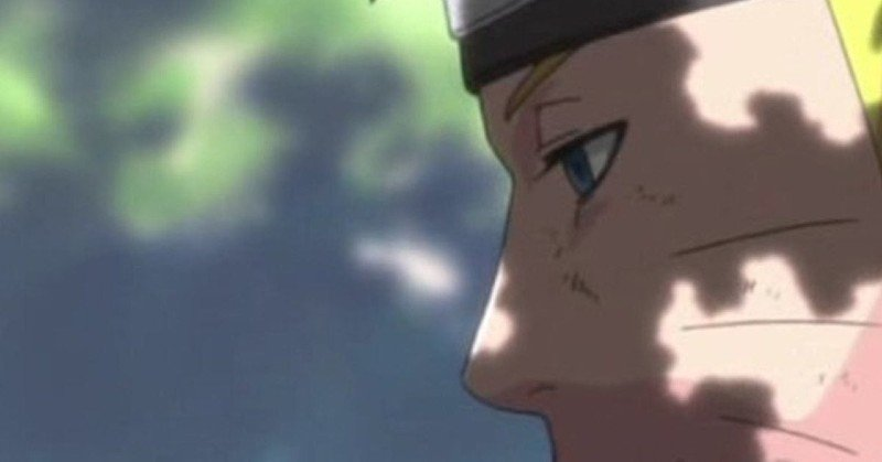 How does Naruto get whiskers?